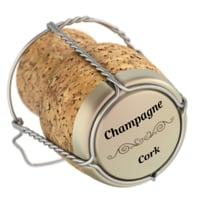 champagne cork model
