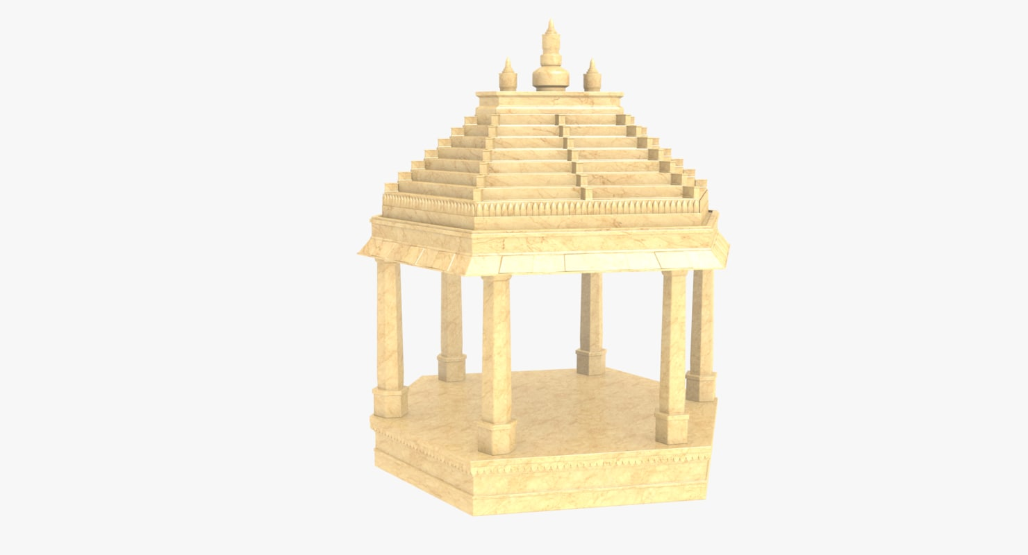 3D dome indian model