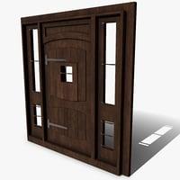 medieval door jails model