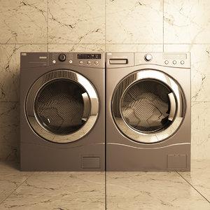washing 3D