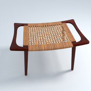 modern design bench rattan model