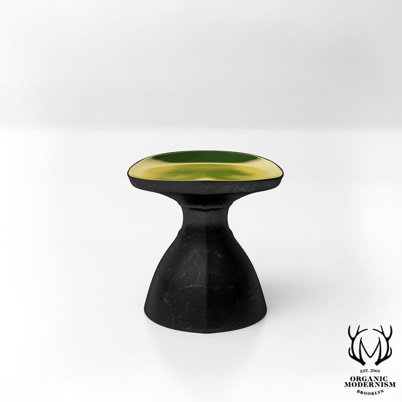 organic modernism stool model