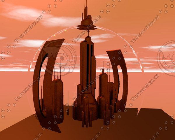 citadel gallifrey 3D model