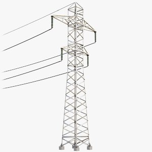 power lines 3D