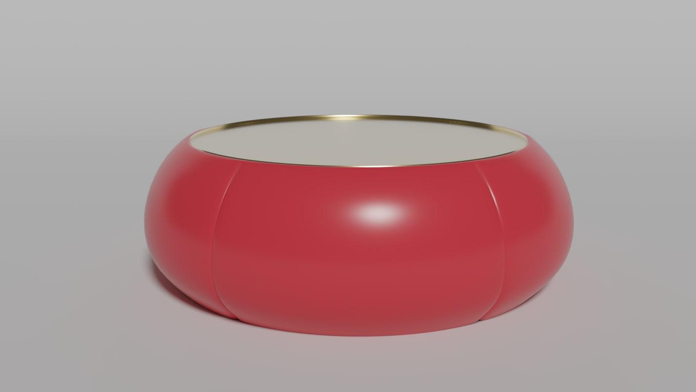 minimalist coffee table 3D model