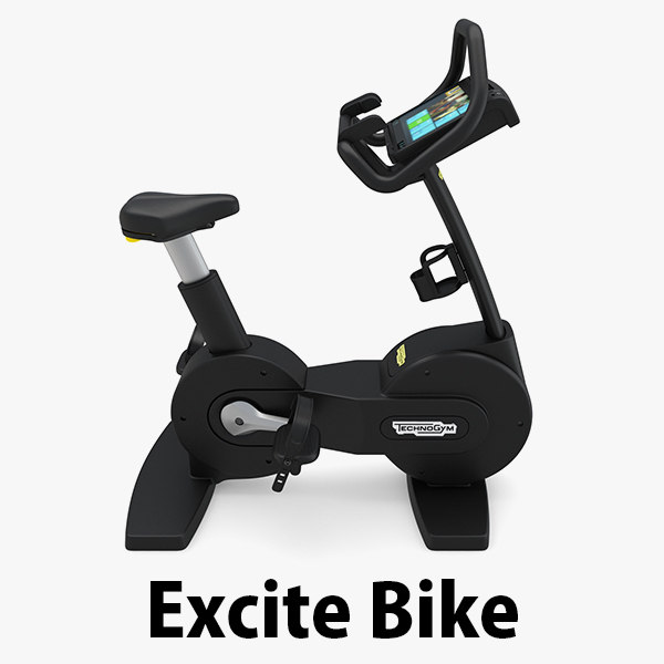 - excite bike technogym 3D model