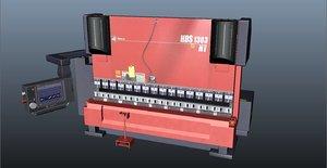 3D press brake