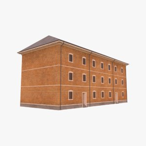 scandinavian building model