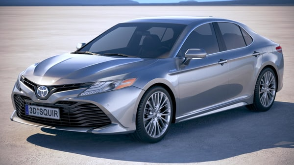 3D toyota camry se