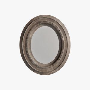 3D restoration salvaged mansard oval