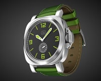 aviator wrist watch design model