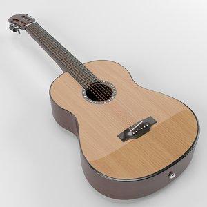 3D classic guitar model