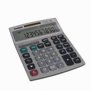 3D model calculator digits