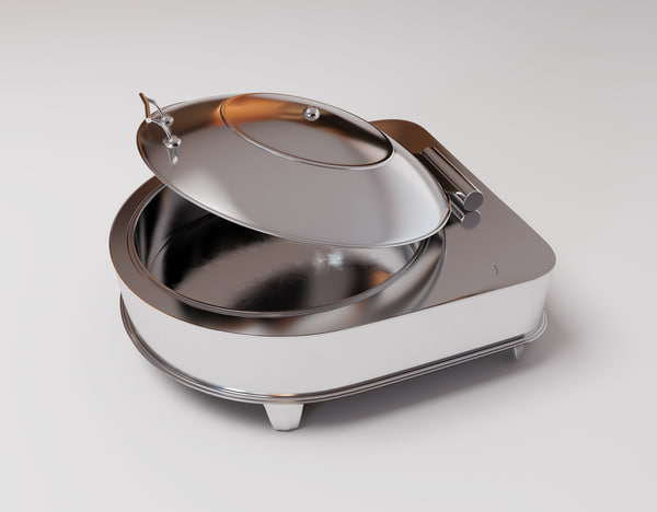 chafing dish 3D