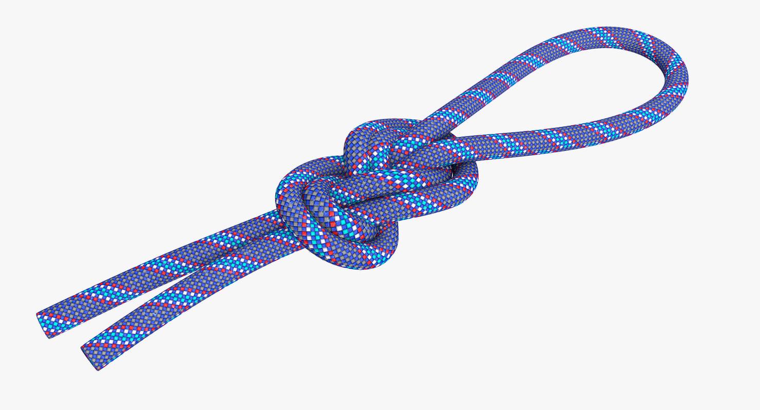 figure knot 3D model