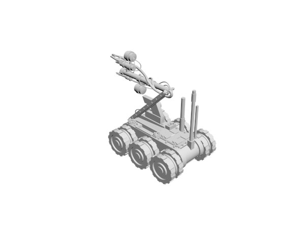 vehicle drone 3D