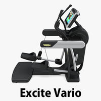 - ect excite vario 3D model