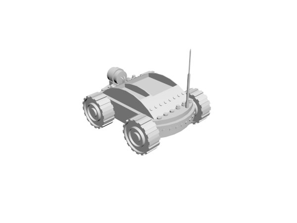3D small vehicle model