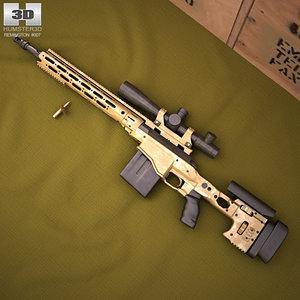 remington msr 3D model