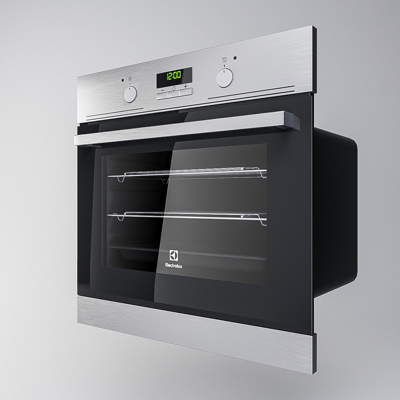 3D oven electrolux model