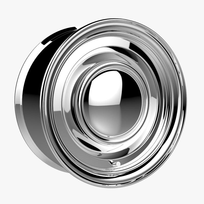 3D pacer smoothe rim wheel