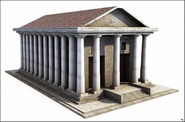3D structure greek model