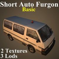 3D model short basic