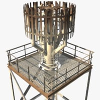 flare stack model