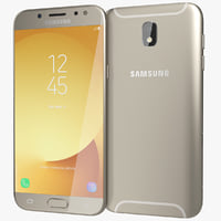 realistic samsung galaxy j5 3D model