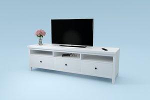 3D tv board hemnes