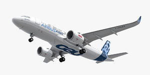 3D airbus a320neo