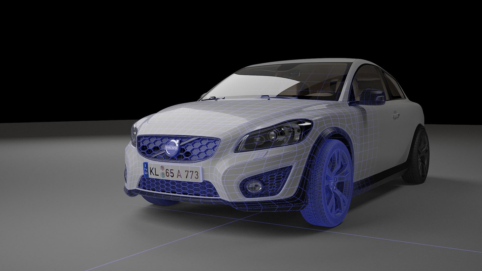 3D bev hq render ready model