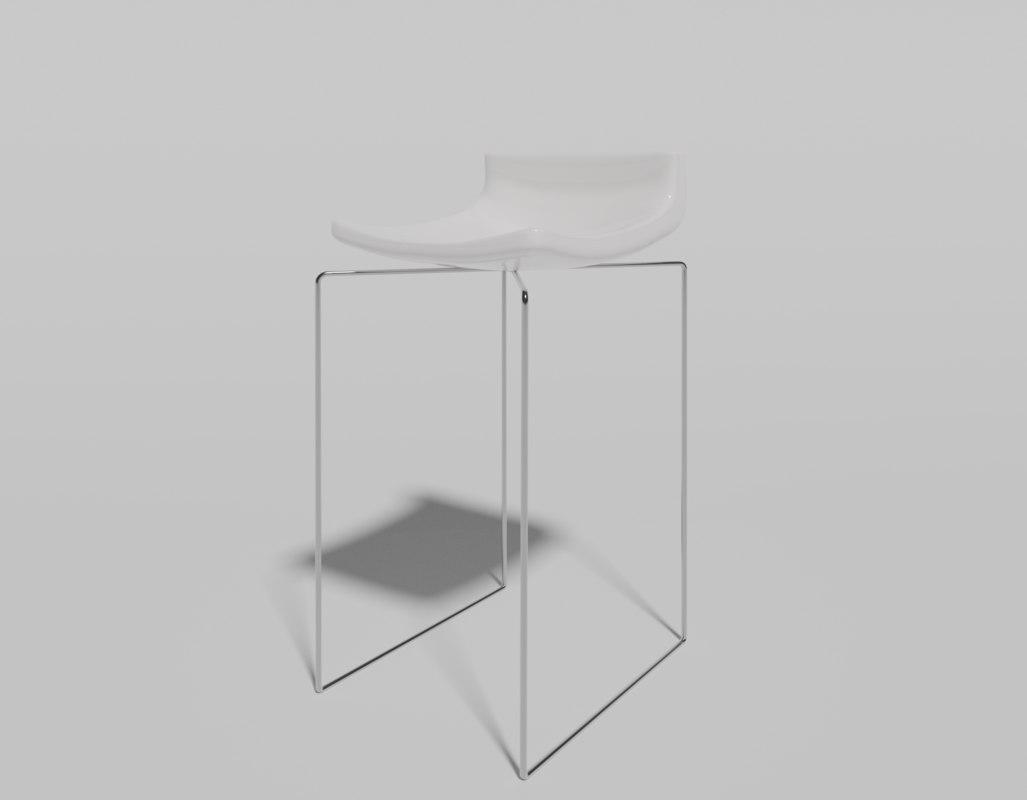 minimalist bar stool model