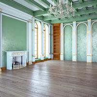 3D model classic room design