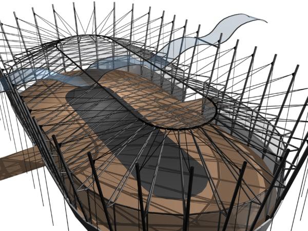 pavilion 3D model