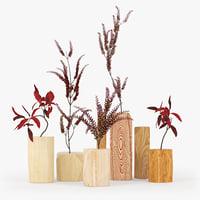3D wood decor