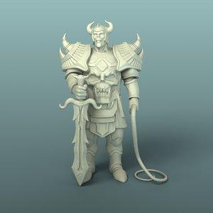 mighty warrior 3D model