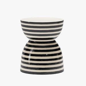 3D model ceramic artisan series time