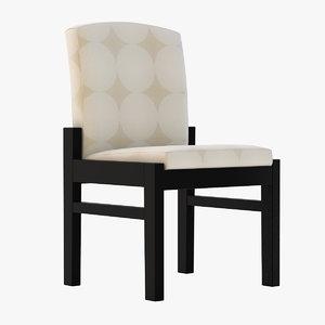 3D erica junior chair model