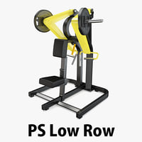 3D load - plate row