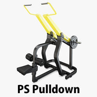 load - plate pulldown 3D