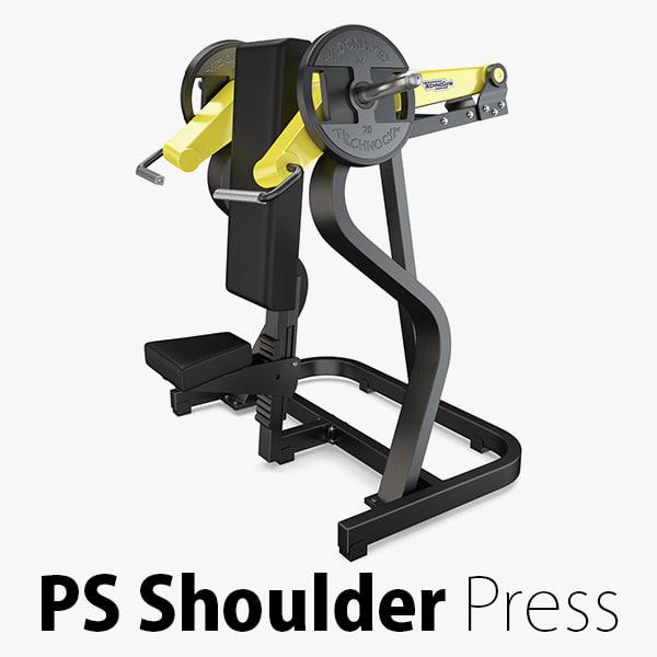 3D load - plate shoulder