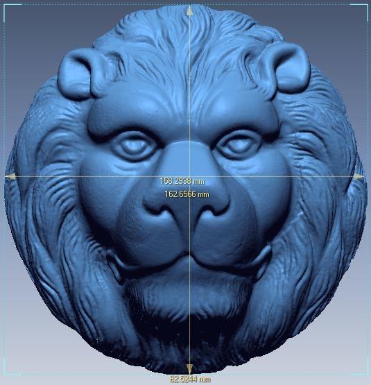 tiger stl 3D model