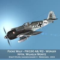Focke Wulf - FW190 A8 - Stab IV