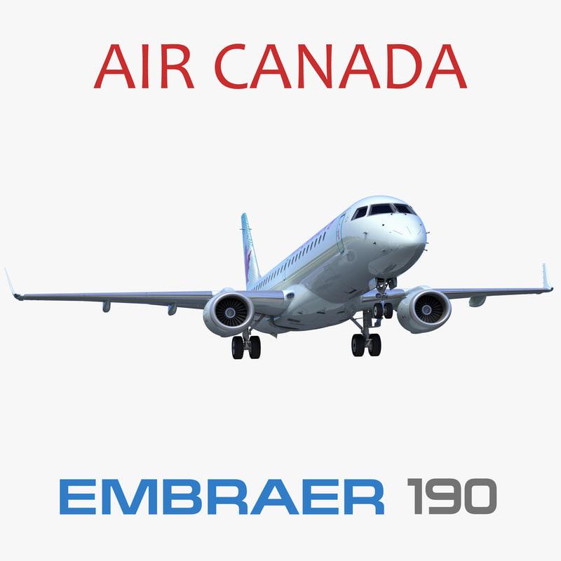 embraer erj-190 air canada model
