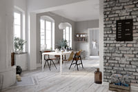 scene scandinavian apartment 3D model