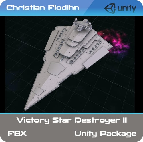 3D vsd victory star destroyer