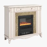 2551100 230 carpenter fireplace 3D model