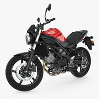 Sport Bike Suzuki SV650 2016 Rigged