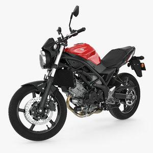 3D sport bike suzuki sv650